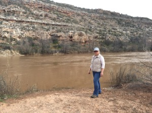 FJK At The Verde River