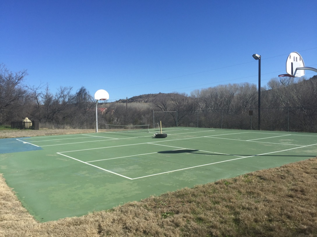 Thousand Trails Verde Pickle Ball Courts 2